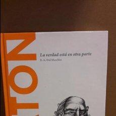 Libros: PLATON. LA VERDAD ESTÁ EN OTRA PARTE / DESCUBRIR LA FILOSOFÍA / 1 / NUEVO. Lote 101554019