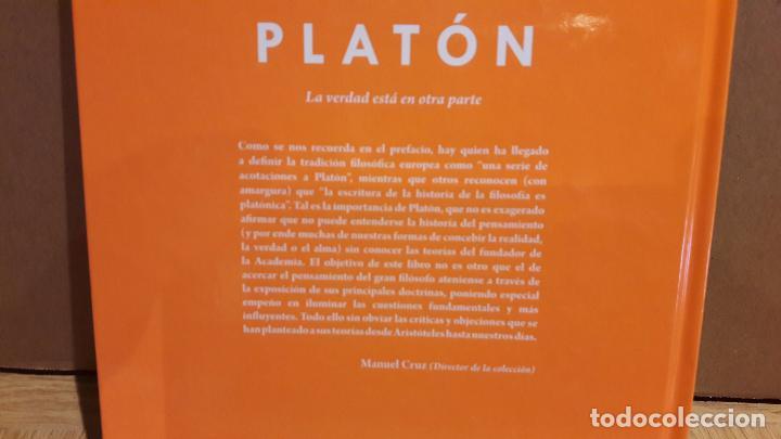 Libros: PLATON. LA VERDAD ESTÁ EN OTRA PARTE / DESCUBRIR LA FILOSOFÍA / 1 / NUEVO - Foto 2 - 101554019