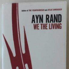 Libros: LIBRO WE THE LIVING - AYN RAND. Lote 127538883