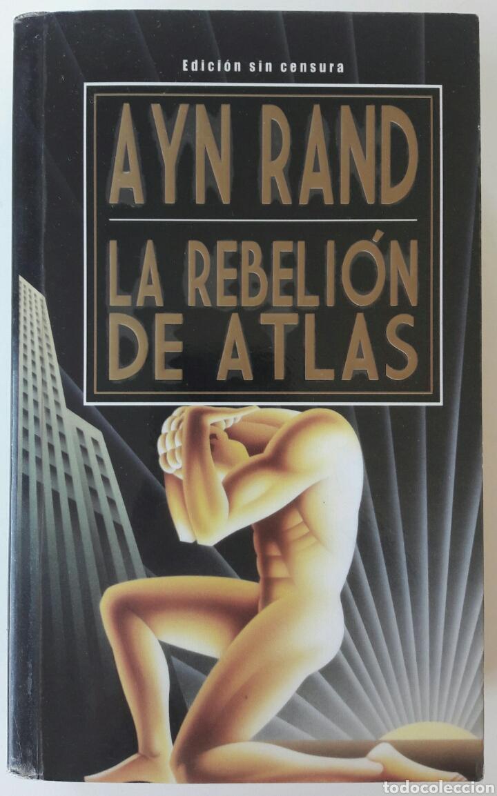 2 fotos LIBRO LA REBELIÓN DE ATLAS (Libros Nuevos - Humanidades -  Filosofía) ...