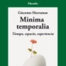Libros: MINIMA TEMPORALIA. Lote 67905719