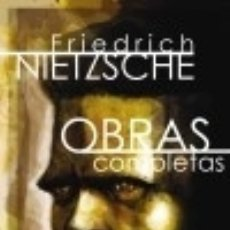Libros: OBRAS COMPLETAS: VOLUMEN I. ESCRITOS DE JUVENTUD. Lote 70869259
