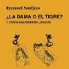 Libros: ¿LA DAMA O EL TIGRE?. Lote 70841379