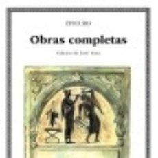 Libros: OBRAS COMPLETAS. Lote 70840475