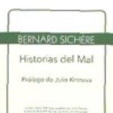 Libros: HISTORIAS DEL MAL. Lote 67905597