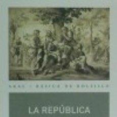 Libros: LA REPÚBLICA. Lote 73016829