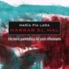 Libros: NARRAR EL MAL. Lote 67905547