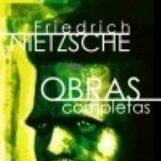 Libros: OBRAS COMPLETAS: VOLUMEN III: OBRAS DE MADUREZ I EDITORIAL TECNOS. Lote 86779507