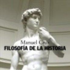 Libros: FILOSOFÍA DE LA HISTORIA. Lote 133015151