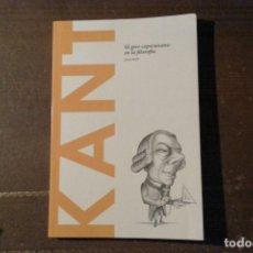 Libros: KANT, EL GIRO COPERNICANO EN LA FILOSOFÍA. JOAN SOLÁ. Lote 137238674