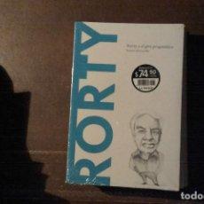 Libros: RORTY, RORTY Y EL GIRO PRAGMÁTICO. RAMÓN DEL CASTILLO. Lote 202086621