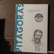 Libros: PITÁGORAS, LA INFANCIA DE LA FILOSOFÍA. VÍCTOR GÓMEZ PIN. Lote 270903203