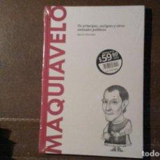 Libros: MAQUIAVELO, DE PRÍNCIPES, CACIQUES Y OTROS ANIMALES POLÍTICOS. IGNACIO ITURRALDE. Lote 270903013