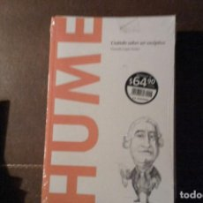 Libros: HUME, CUÁNDO SABER SER ESCÉPTICO. GERARDO LÓPEZ SASTRE. Lote 143732536