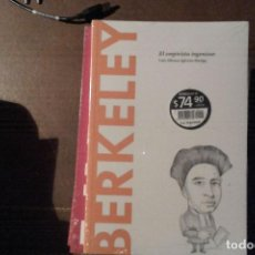 Libros: BERKELEY, EL EMPIRISTA INGENIOSO. LUIS ALFONSO IGLESIAS HUELGA. Lote 137243386