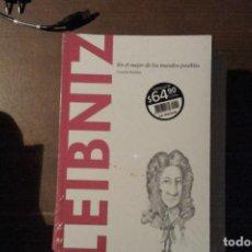 Libros: LEIBNIZ, EN EL MEJOR DE LOS MUNDOS POSIBLES. CONCHA ROLDÁN. Lote 137243490
