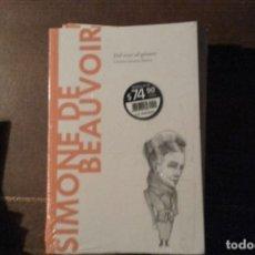 Libros: SIMONE DE BEAUVOIR, DEL SEXO AL GÉNERO. CRISTINA SÁNCHEZ MUÑOZ. Lote 270903533