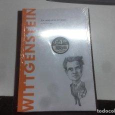 Libros: WITTGENSTEIN, LA CONCIENCIA DEL LÍMITE, CARLA CARMONA. Lote 270903138
