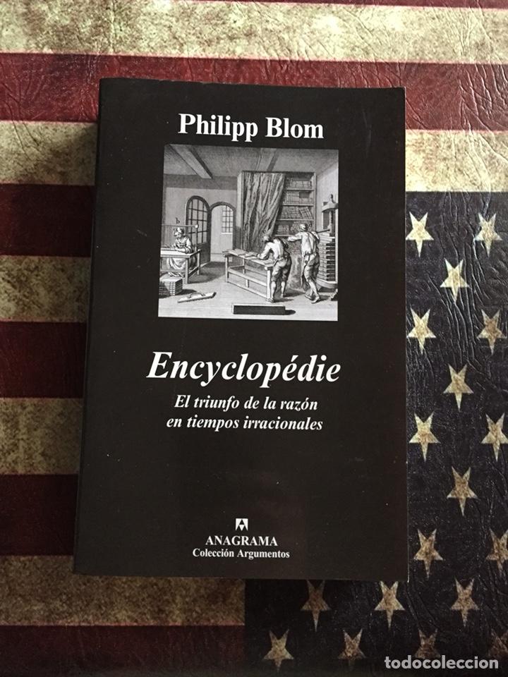 ENCYCLOPÉDIE (Libros Nuevos - Humanidades - Filosofía)