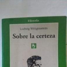 Libros: WITTGENSTEIN, LUDWIG. Lote 157824114