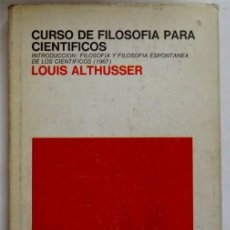 Libros: CURSO DE FILOSOFIA PARA POLITICOS – LOUIS ALTHUSSER. Lote 161994442