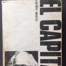 Libros: EL CAPITAL - CARLOS MARX - CASTELLOTE EDITOR.. Lote 162718082