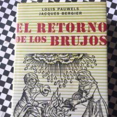 Livros: EL RETORNO DE LOS BRUJOS. Lote 165460694