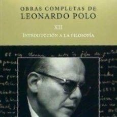 Bücher - Obras completas de Leonardo Polo. Vol. XII, Introducción a la filosofía - 165815870