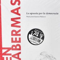 Libros: JURGEN HABERMAS, LA APUESTA POR LA DEMOCRACIA. MARÍA JOSÉ GUERRA PALMERO. Lote 270903238