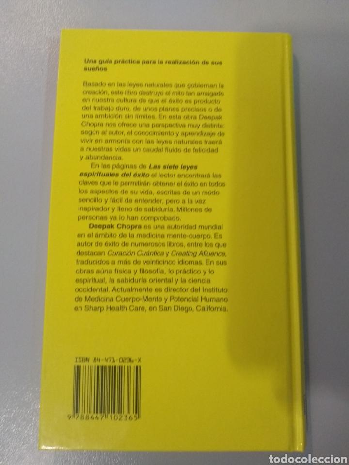 Libros: Las siete leyes espirituales del éxito. Deepak Chopra 9788441400153 - Foto 2 - 221983240