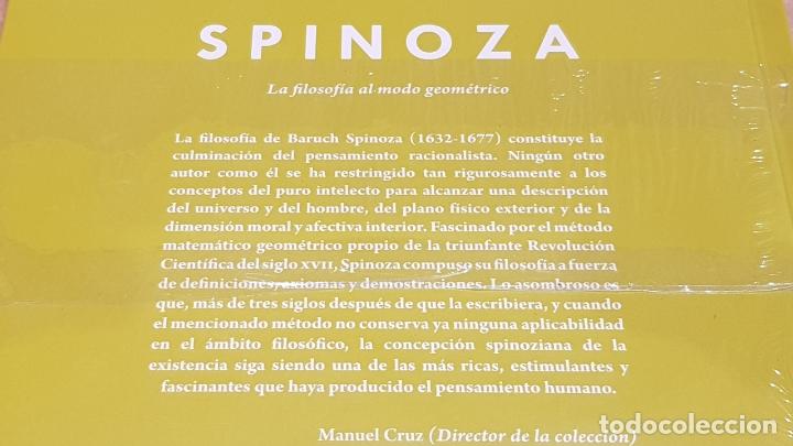 Libros: SPINOZA. LA FILOSOFÍA AL MODO GEOMÉTRICO. JOAN SOLÉ / DESCUBRIR LA FILOSOFÍA / 20 / PRECINTADO. - Foto 2 - 195323743