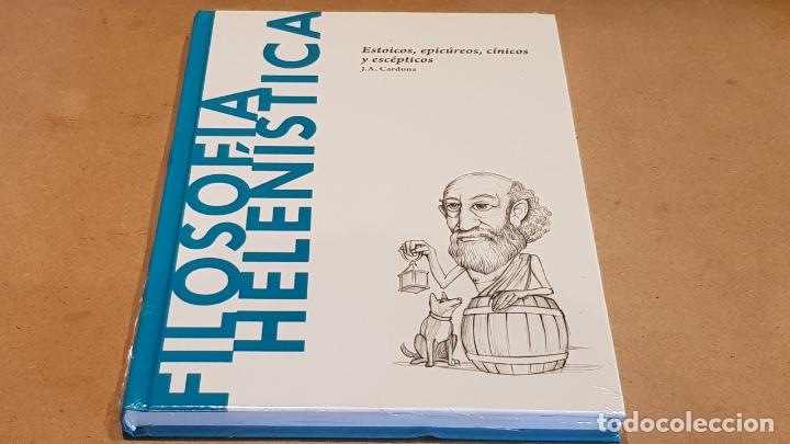 FILOSOFÍA HELENÍSTICA.ESTOICOS,EPICÚREOS... / J.A.CARDONA / DESCUBRIR LA FILOSOFÍA / 22 / PRECINTADO (Libros Nuevos - Humanidades - Filosofía)