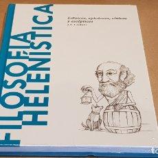 Libros: FILOSOFÍA HELENÍSTICA.ESTOICOS,EPICÚREOS... / J.A.CARDONA / DESCUBRIR LA FILOSOFÍA / 22 / PRECINTADO. Lote 172635100
