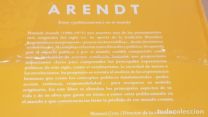 Libros: ARENDT. ESTAR ( POLITICAMENTE ) EN EL MUNDO. CRISTINA SÁNCHEZ / DESCUBRIR LA FILOSOFÍA / 23 / PRECIN - Foto 2 - 172635239