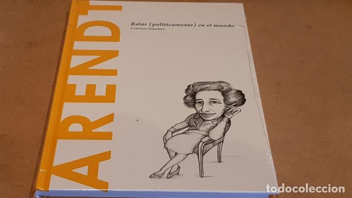 ARENDT. ESTAR ( POLITICAMENTE ) EN EL MUNDO. CRISTINA SÁNCHEZ / DESCUBRIR LA FILOSOFÍA / 23 / PRECIN (Libros Nuevos - Humanidades - Filosofía)