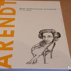Libros: ARENDT. ESTAR ( POLITICAMENTE ) EN EL MUNDO. CRISTINA SÁNCHEZ / DESCUBRIR LA FILOSOFÍA / 23 / PRECIN. Lote 229588130