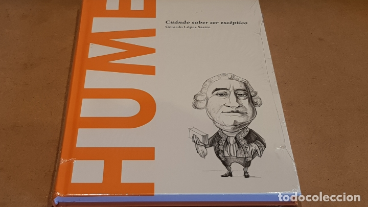HUME. CUÁNDO SABER SER ESCÉPTICO. GERARDO LÓPEZ / DESCUBRIR LA FILOSOFÍA / 16 / PRECINTADO (Libros Nuevos - Humanidades - Filosofía)