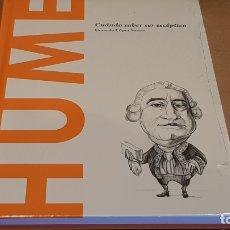 Libros: HUME. CUÁNDO SABER SER ESCÉPTICO. GERARDO LÓPEZ / DESCUBRIR LA FILOSOFÍA / 16 / PRECINTADO. Lote 249470970