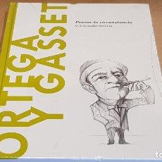 Libros: ORTEGA Y GASSET. PENSAR LA CIRCUNSTANJCIA / . J. GONZALEZ / DESCUBRIR FILOSOFÍA /15 / PRECINTADO. Lote 172635578