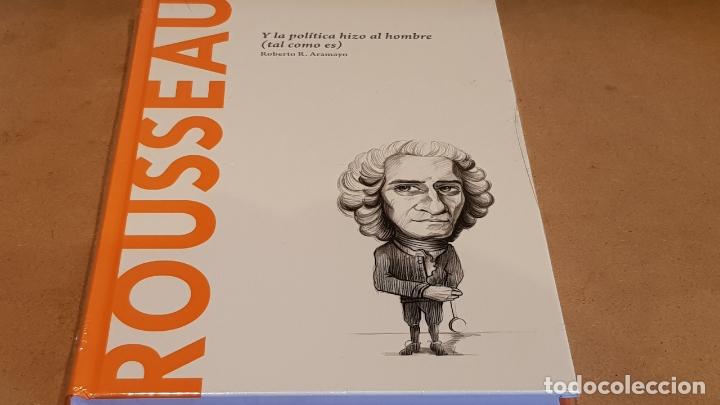 ROUSSEAU. Y LA POLÍTICA HIZO AL HOMBRE. ROBER R. ARAMAYO / DESCUBRIR LA FIOLOSOFÍA / 11 / PRECINTADO (Libros Nuevos - Humanidades - Filosofía)