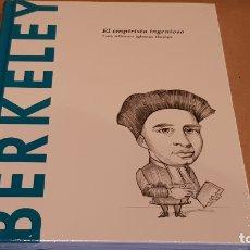 Libros: BERKELEY. EL EMPIRISTA INGENIOSO. L.A. IGLESIAS / DESCUBRIR LA FILOSOFÍA / 37 / PRECINTADO.. Lote 172636718