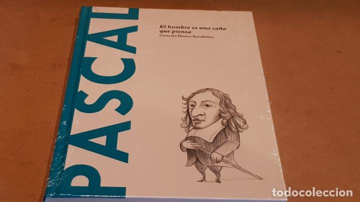 PASCAL. EL HOMBRE ES UNA CAÑA... GONZALO MUÑOZ / DESCUBRIR LA FILOSOFÍA / 17 / PRECINTADO. (Libros Nuevos - Humanidades - Filosofía)