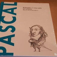 Libros: PASCAL. EL HOMBRE ES UNA CAÑA... GONZALO MUÑOZ / DESCUBRIR LA FILOSOFÍA / 17 / PRECINTADO.. Lote 195323963