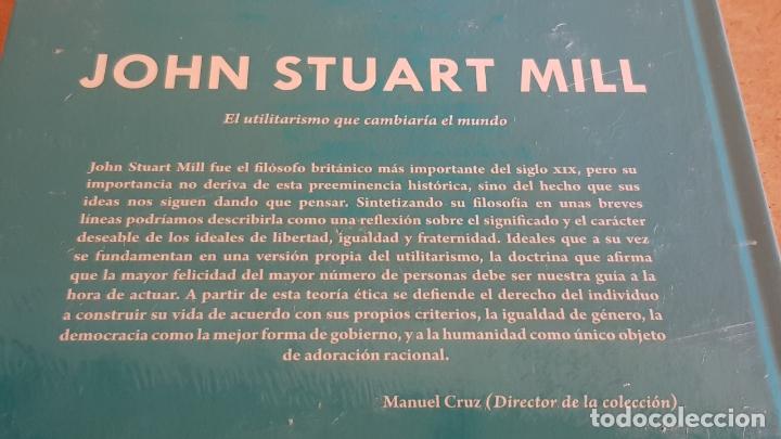 Libros: JOHN STUART MILL. EL UTILITARISMO...DESCUBRIR LA FILOSOFÍA / 42 / PRECINTADO. - Foto 2 - 173377444