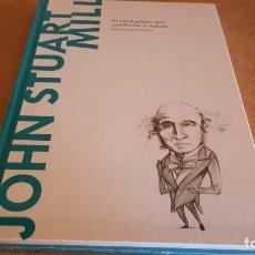 Libros: JOHN STUART MILL. EL UTILITARISMO...DESCUBRIR LA FILOSOFÍA / 42 / PRECINTADO.. Lote 173377444