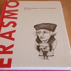 Libros: ERASMO / EL HUMANISMO EN LA ENCRUCIJADA /JORGE LEDO / DESCUBRIR LA FILOSOFÍA / 39 / PRECINTADO.. Lote 173377550