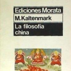 Libros: FILOSOFIA CHINA, LA. Lote 179156676