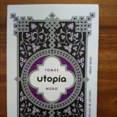 Libros: UTOPÍA - MORO, TOMÁS. Lote 180844077