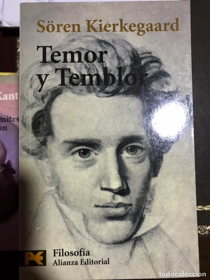 TEMOR Y TEMBLOR SOREN KIERKEGAARD (Libros Nuevos - Humanidades - Filosofía)