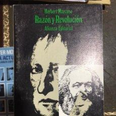 Libros: RAZÓN Y REVOLUCIÓN HERBERT MARCUSE. Lote 183559675